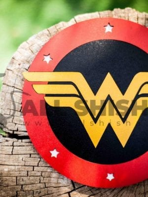 Tapete 3D Sapiens Wonder Woman 19cm
