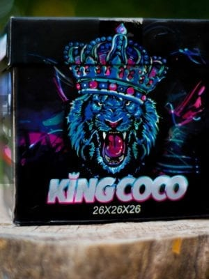 Carbón Vegetal KING COCO 1 Kg