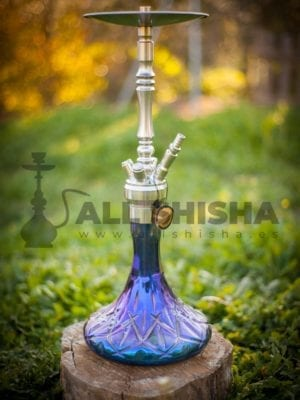 Cachimba Mio Chrome Purple Rain, Dschinni