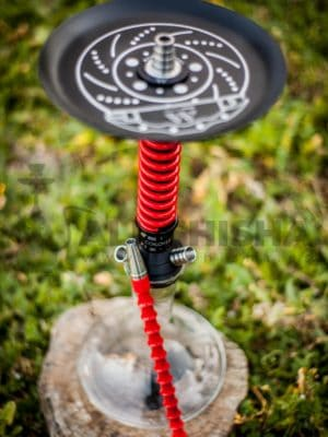 Cachimba Mamay Customs Coilover Mini Black-Red