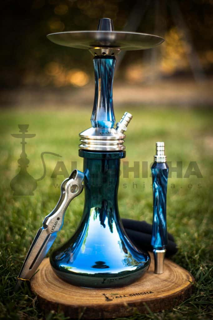 Cachimba Ocean Kaif S - Blue Chrome