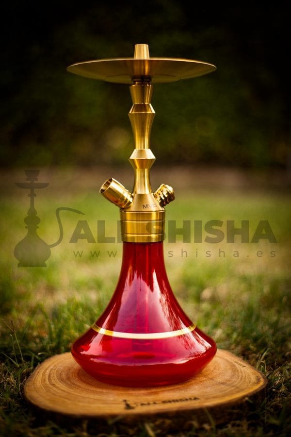 Cachimba Aladin MVP360 Gold Edition - Gold/Red